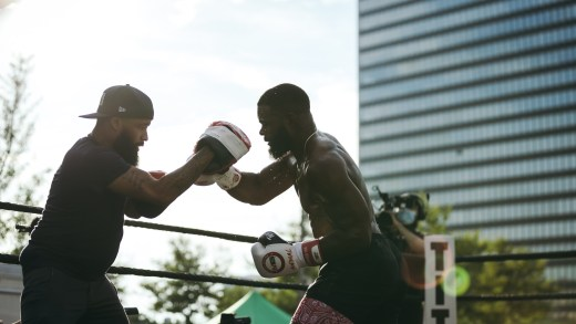 TYRON WOODLEY LOOKING RIPPED AHEAD OF JAKE PAUL CLASH