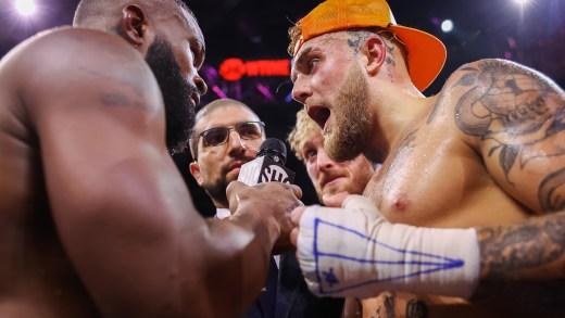 JAKE PAUL GETS SPLIT DECISION WIN OVER FORMER UFC CHAMP TYRON WOODLEY