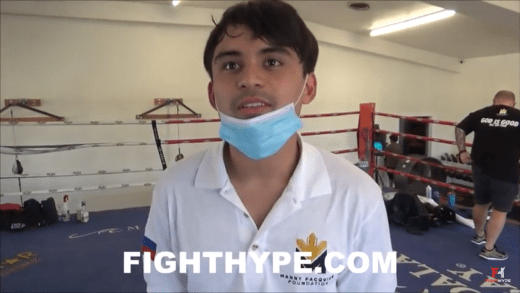 MANNY PACQUIAO'S SON ON FATHER'S FUTURE & OWN BOXING AMBITIONS